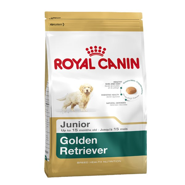 royal canin golden retriever junior g nstig kaufen bei zooroyal. Black Bedroom Furniture Sets. Home Design Ideas