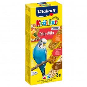 Vitakraft Kräcker Trio Honig Orange PopCorn 3 Stück