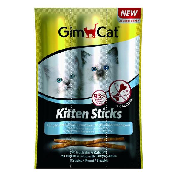 GimCat Kitten Sticks mit Truthahn & Calcium 3 Stück