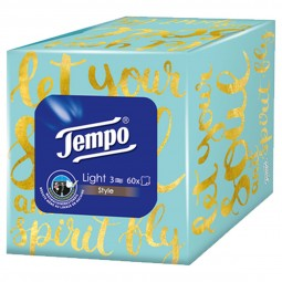 Tempo Light Box 60 Tücher