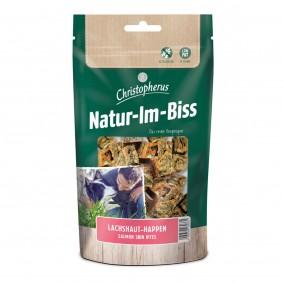 Christopherus Genießersnack Natur-Im-Biss Lachshaut Happen 60 g