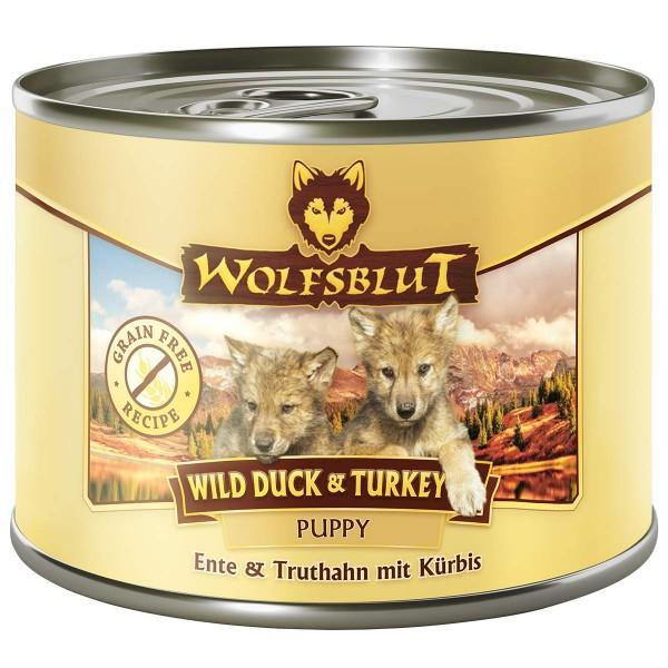 Wolfsblut Wild Duck & Turkey Puppy