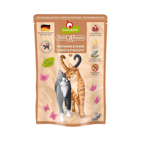 GranataPet Katze - Delicatessen Pouch Truthahn & Fasan