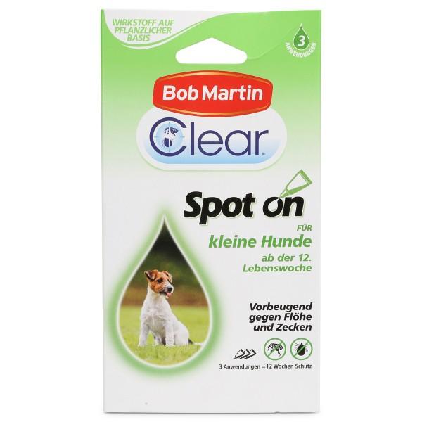 Bob Martin Clear Spot On für kleine Hunde und Welpen