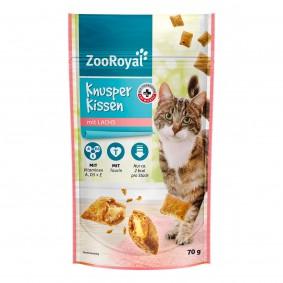 ZooRoyal křupavé polštářky slososem