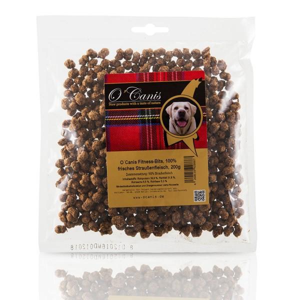 O'Canis Hundesnack Fitness-Bits Straußenfleisch 200g