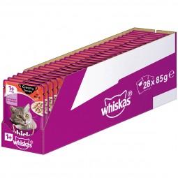 Whiskas Adult 1+ Creamy Soups mit Rind 28x85g
