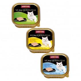 Animonda Vom Feinsten Adult für kastrierte Katzen Mixpaket 24x100g