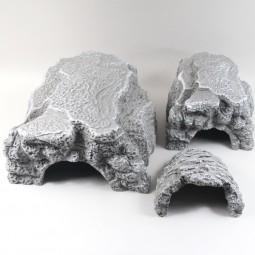 JBL Höhle für Terrarien ReptilCava grau