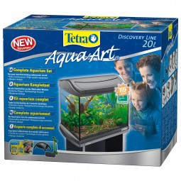 Tetra AquaArt Aquarium-Komplett-Set 20 l anthrazit