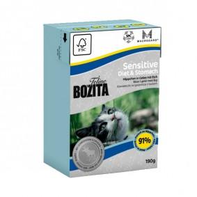 Bozita Feline Funktion Sensitive Diet & Stomach 190g
