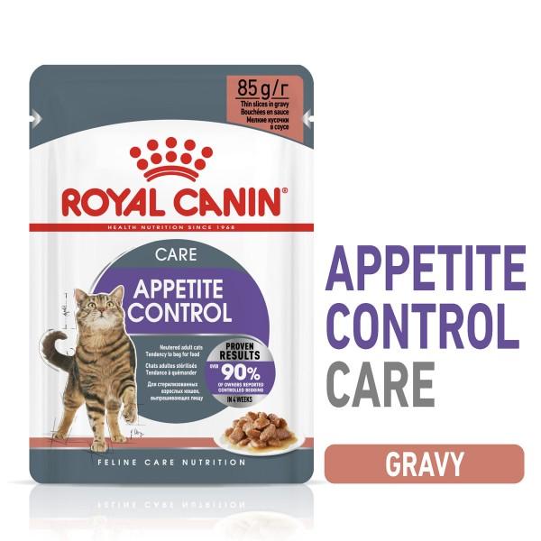 ROYAL CANIN APPETITE CONTROL CARE Nassfutter in Soße für erwachsene Katzen