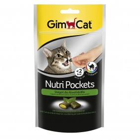 GimCat Nutri Pockets Katzenminze + Multi Vitamin 60g