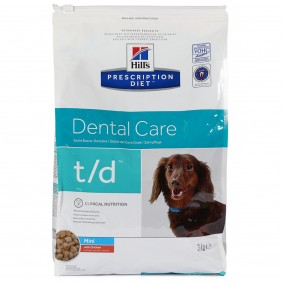 Hill's Prescription Diet t/d Mini Dental Care mit Huhn