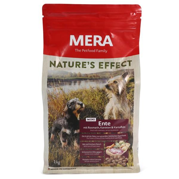 MERA Nature's Effect Trockenfutter Mini Ente