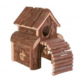Trixie Haus Finn für Mäuse aus Rindenholz