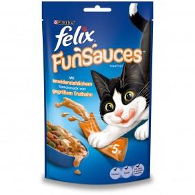 FELIX FunSauces Truthahngeschmack 5x15g 2+1 Gratis