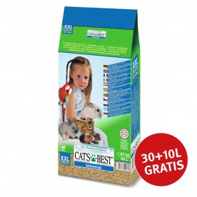 Cats Best Universal Pflanzenfaserstreu 30+10L Gratis