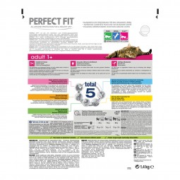 Perfect Fit Katzenfutter Adult 1+ reich an Lachs