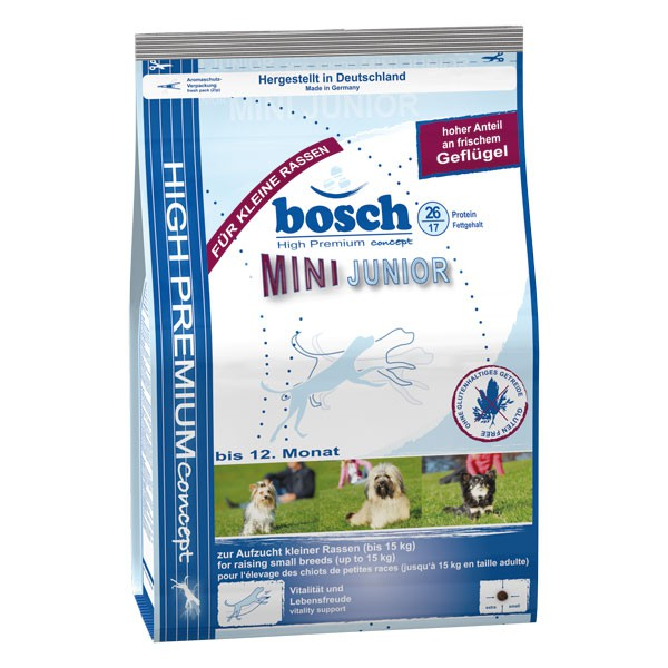 bosch Tiernahrung Bosch Mini Junior Hundefutter - 1kg
