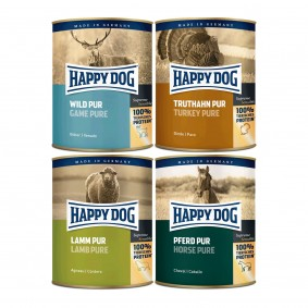 Happy Dog Pur 24x800g Mixpaket 2