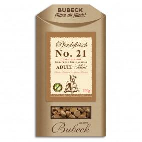 Bubeck No.21 Mini Pferdefleisch 700g
