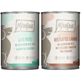 MjAMjAM Monopaket I mit Lamm und Pute 6x400g