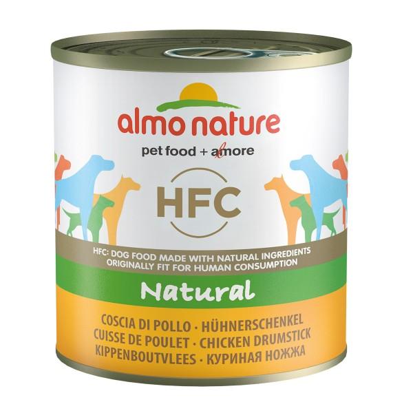 Almo Nature HFC Natural Dog mit Hühnerschenkel