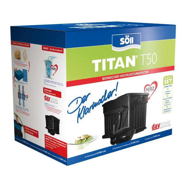 Söll TITAN T50 Teichfilter Komplettset