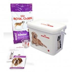 Royal Canin GIANT Junior Hunde-Starterpaket für Welpen
