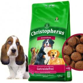 Christopherus Getreidefrei Hirsch und Kartoffel