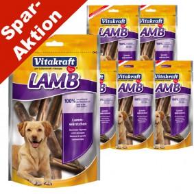Vitakraft Hundesnack Lamb Lammwürstchen 5x80g + 1x80g gratis