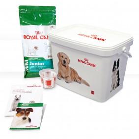 Royal Canin MINI Junior Hunde-Starterpaket für Welpen