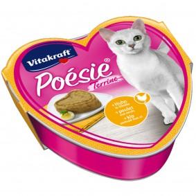 Vitakraft Katzenfutter Poésie Terrine mit Huhn und Eihülle