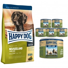 Happy Dog Supreme Sensible Neuseeland 12,5kg - Gratis Happy Dog Lamm Pur