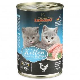 Leonardo Kitten reich an Geflügel 5+1 Gratis (6x400g)