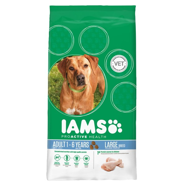 IAMS DOG Adult Large Breed Chicken 3kg