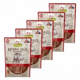 GranataPet Natural Taste Edler Snack Pferd 5x90g