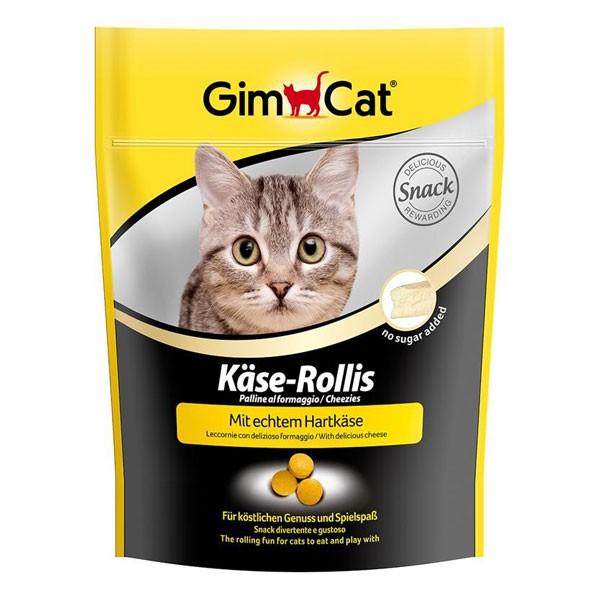 GimCat Katzensnack Käse-Rollis 140g