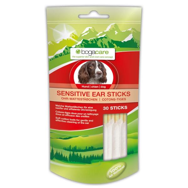 bogacare Sensitive Ear Sticks Hund 30 Stk.