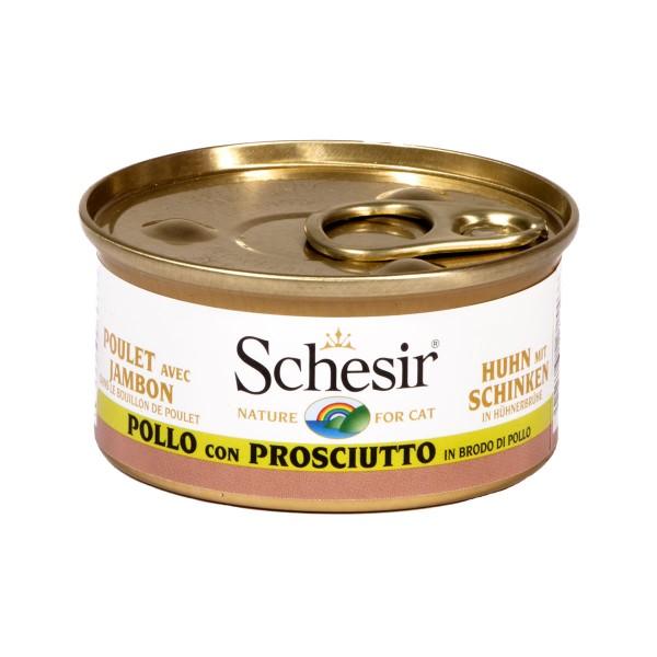 Schesir Cat Brühe Huhn & Schinken
