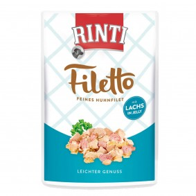 Rinti Filetto Huhn & Lachs in Jelly