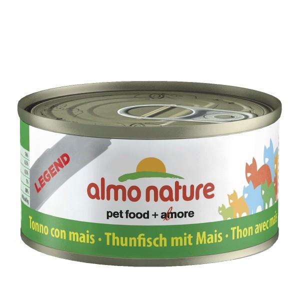 Almo Nature Katzenfutter 70g - Thunfisch & Mais