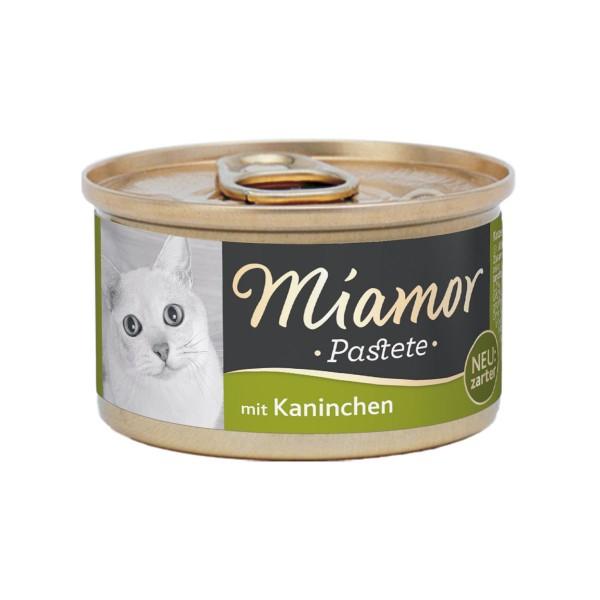 Miamor zarte Fleischpastete mit Kaninchen