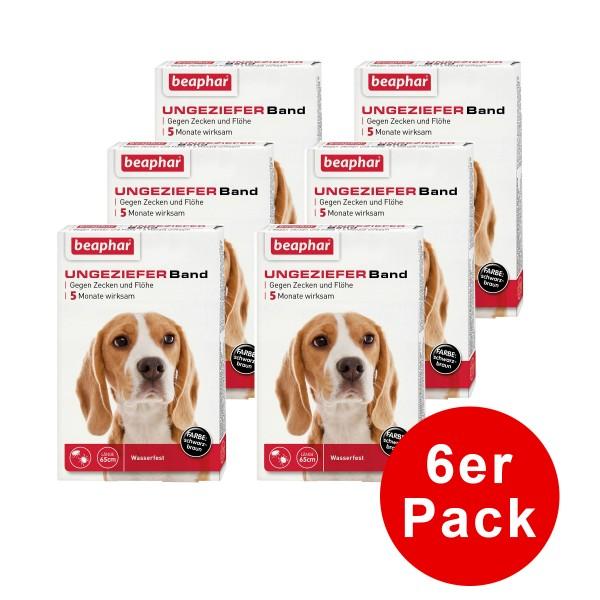 beaphar Anti Floh & Zecken Ungezieferband 65cm 3er-Pack