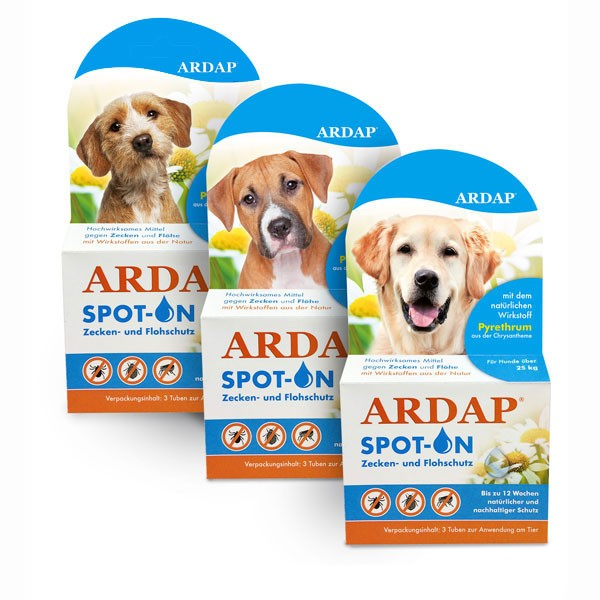 ARDAP Spot-On für Hunde 3x1,0ml