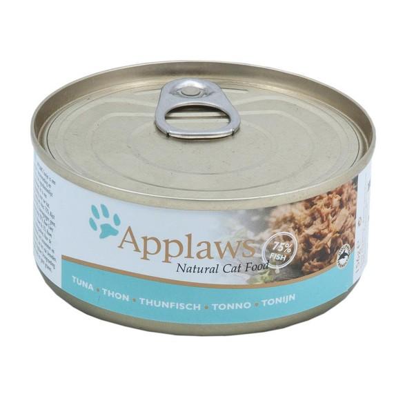 Applaws Cat glutenfreies Thunfischfilets - 70g