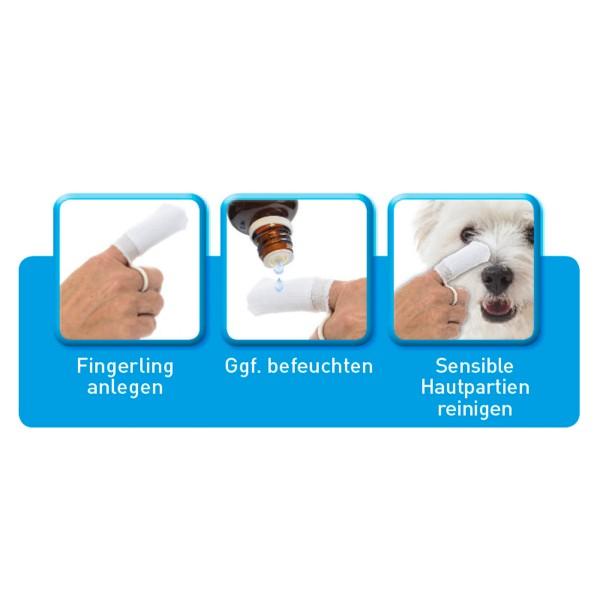 beaphar Sensitiv Ohrenreiniger 50ml + Fingerling GRATIS