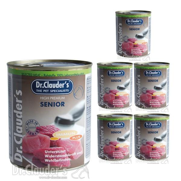 Dr. Clauders -Selected Meat Immun Plus 6x800g