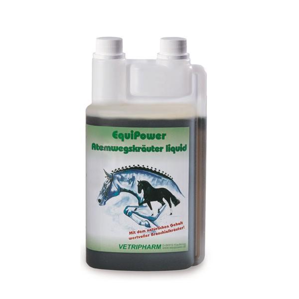 Vetripharm EquiPower Atemwegskräuter liquid 1l